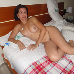 Resting and Waiting - Big Tits, Brunette, Bush Or Hairy