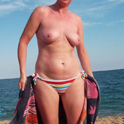 Topless Barcelone - Beach, Big Tits, Wife/Wives
