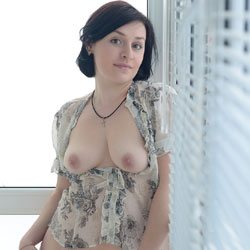 Standing Nude At The Window - Big Tits, Brunette Hair, Erect Nipples, Firm Tits, Flashing Tits, Flashing, Nipples, No Panties, Perfect Tits, Showing Tits, Trimmed Pussy, Hot Girl, Sexy Body, Sexy Boobs, Sexy Face, Sexy Figure, Sexy Girl, Sexy Legs, Sexy Woman, Young Woman