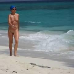 Walk On The Beach - Beach, Big Tits
