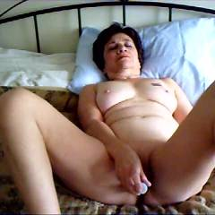 Working My Clit and Pussy - Toys, Masturbation, Brunette, Big Tits