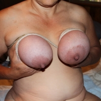 Very large tits of a neighbor - Tammy