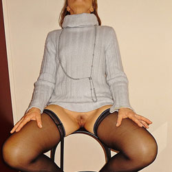 Pale Blue Sweater 1 - Wife/Wives