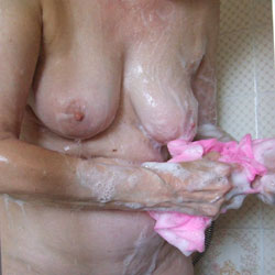 Showering For You - Big Tits