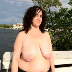 Large tits of a co-worker - Lori