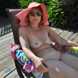 Backyard by The Pool and The Roses - Wife/Wives, Bush Or Hairy