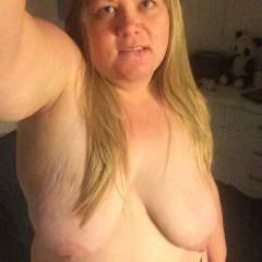 Large tits of a neighbor - Grace