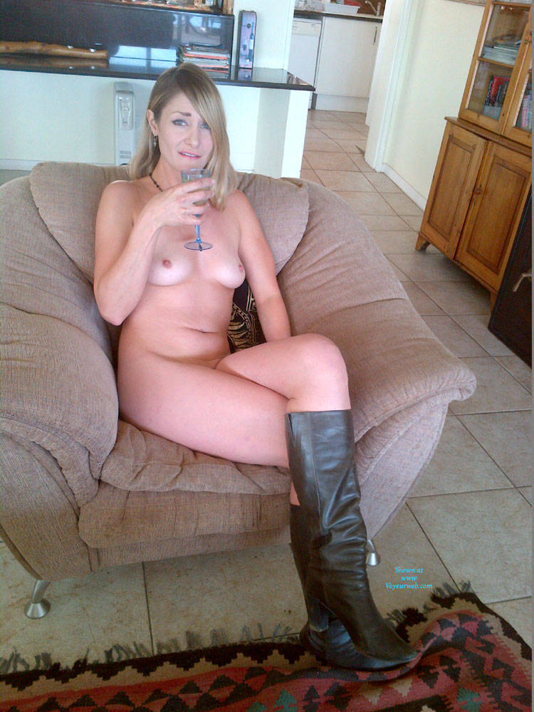 Pic #1 - Hot Fun - Blonde Hair, Milf, Perfect Tits , Friend Wants To Hear Your Comments. This Is Her First Time