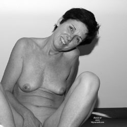 Some B and W Pics - Brunette