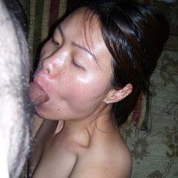 Chinese Head - Blowjob, Brunette