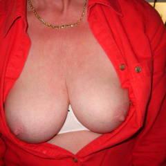 Medium tits of my wife - lydia