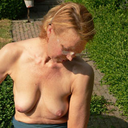 Last Year In The Garden 2 - Big Tits