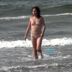 Spell Caster - Beach, Bikini Voyeur, Brunette