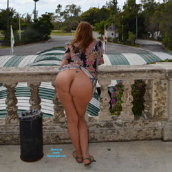 Milf Flashing - Flashing, Public Exhibitionist, Public Place