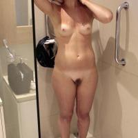 Medium tits of my wife - Meri