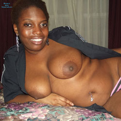 Out Of Uniform - Big Tits, Brunette, Costume, Ebony, Shaved