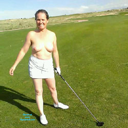 Golf Day - Big Tits, Brunette Hair, Wife/Wives