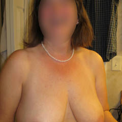 Large tits of my wife - Kaye