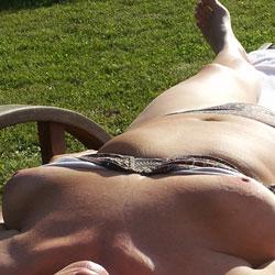 Sunbathing - Big Tits