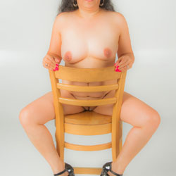 Lenora's Studio Photo Shoot - Big Tits, Brunette