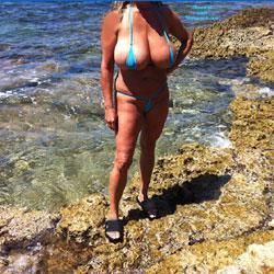 Rovigno HR - Beach, Big Tits, Bikini Voyeur