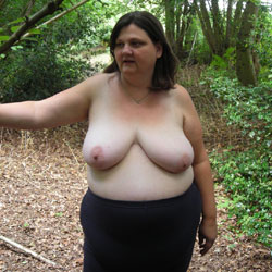 Random Outside Nudes - Big Tits, Brunette, BBW