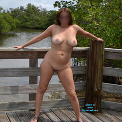 Milf Nude At Park - Big Tits