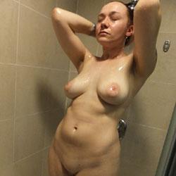 Shower - Big Tits, Brunette