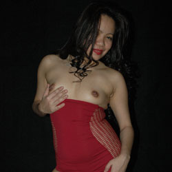 Mz.Dee In Red - Brunette