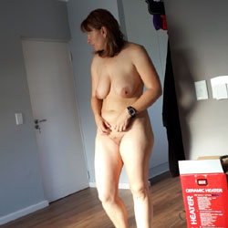 Marie Getting Dressed - Big Tits, Brunette