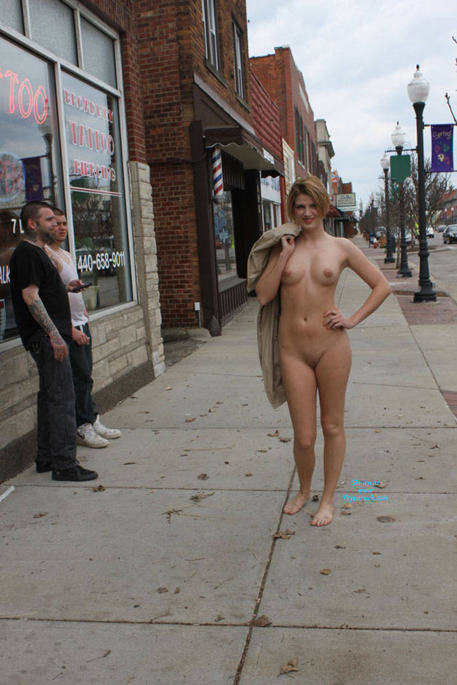 Monnie NIP Again - Even More Daring - Big Tits, Exposed In Public, Flashing, Nude In Public , More Shots From My Day Around Town In A Suburb Of Cleveland Ohio. I Absolutely Love Seeing The Reactions From People On The Street And Also Reading The Comments Left For Me Here. Keep Them Superb Votes Coming And I Promise To Get Even More Daring With The Next Set !!