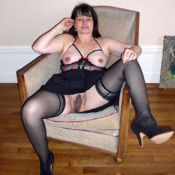 Soumise 60 - Big Tits, Lingerie, Mature, Bush Or Hairy