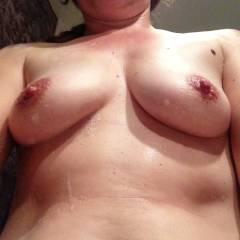 Medium tits of my wife - Leslie