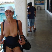 Flashing Tits And Pussy - Flashing Tits, Flashing, Natural Tits, Trimmed Pussy