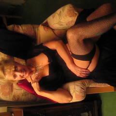 Gorgeous Stockin Tops - Big Tits, Blonde, High Heels Amateurs, Lingerie