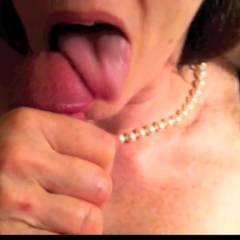 60 And Still Sucks - Blowjob, Close-Ups, Wife/Wives