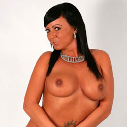 Shooting - Big Tits, Brunette, Lingerie, Tattoos