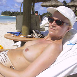 Not So Shy Anymore - Beach, Big Tits