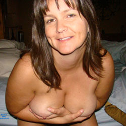 Ready For Bed - Big Tits, Brunette