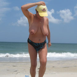 The Wife At The Beach - Beach, Big Tits, Wife/Wives