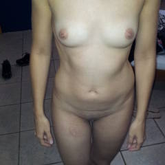Very small tits of my wife - Lovely