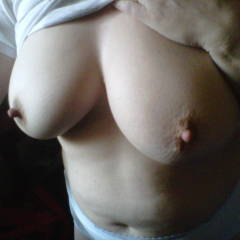 Medium tits of my wife - Canadian Made