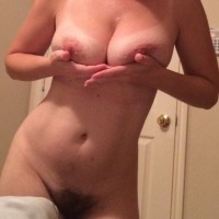 Very large tits of my wife - The wife