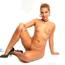 Blonde Girl At The Studio - Blonde Hair, Firm Tits, Full Nude, Heels, Indoors, Nipples, Perfect Tits, Shaved Pussy, Showing Tits, Hot Girl, Naked Girl, Sexy Body, Sexy Face, Sexy Figure, Sexy Girl, Sexy Legs, Sexy Woman, Young Woman