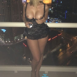 More Balcony Fun - Big Tits