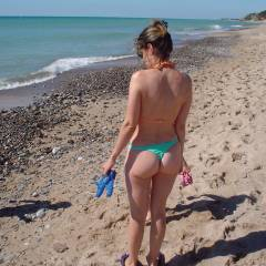 My wife's ass - French wife