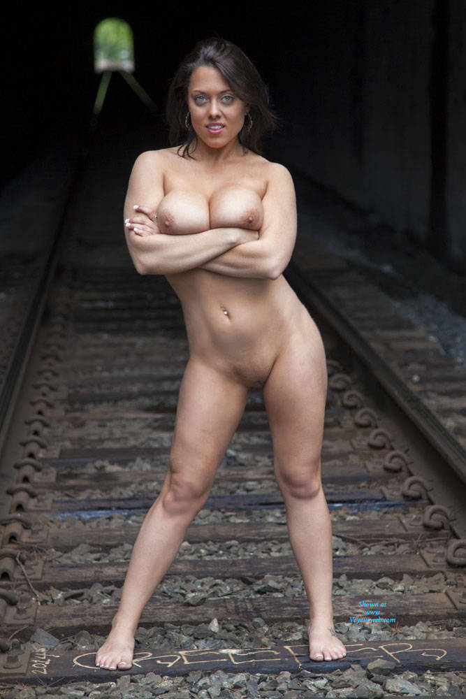 Nude In Train