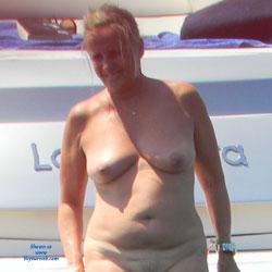 Nudist On Boat