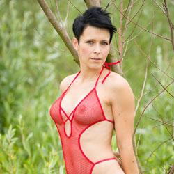 Lake - Beach, Big Tits, Bikini Voyeur, Brunette