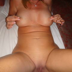Large tits of my wife - Holly
